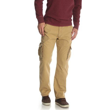 Edwards Garment Mens Big And Tall Button Closure Chino Pant/_TAN/_52 UL
