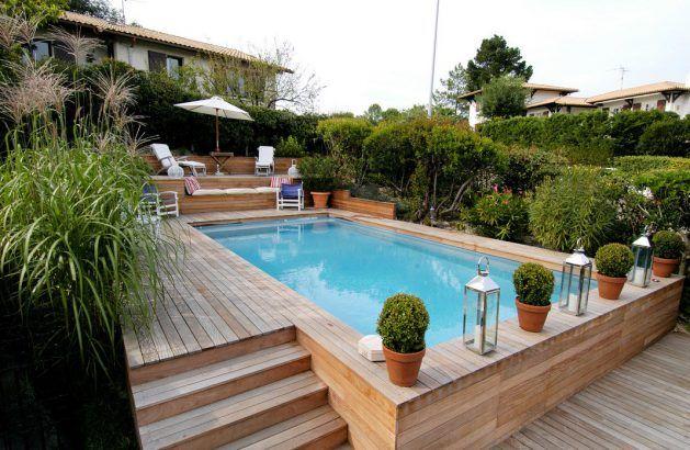 Top 35 des plus belles piscines hors sol repérées sur Pinterest
