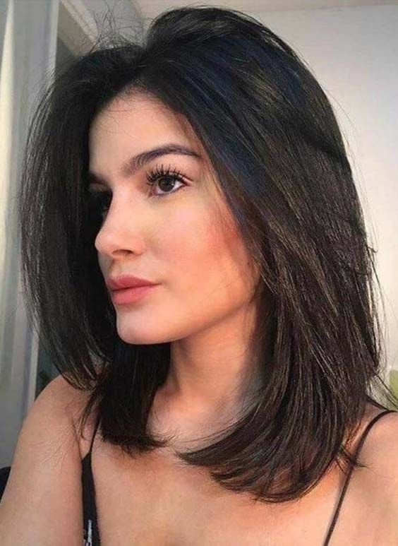 15 Best Medium Length Haircuts and Hairstyles for 2018 Go
