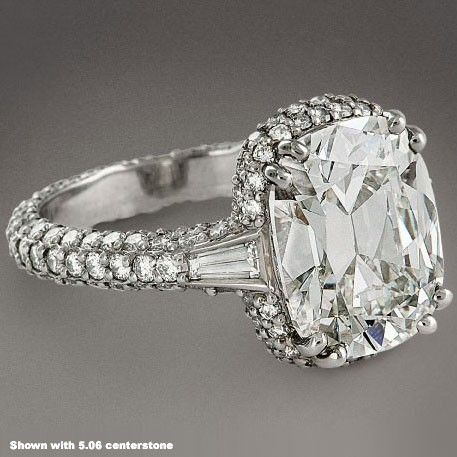 Cushion Cut That Is The Style I Want P