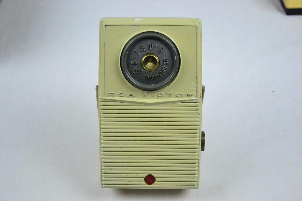 Details about Vintage RCA Victor Impac Transistor Radio