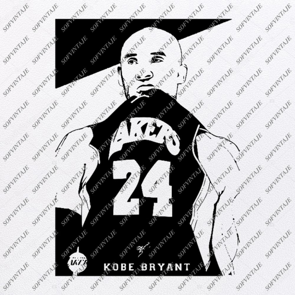 Kobe Bryant Svg Los Angeles Lakers SvgBasketball Svg