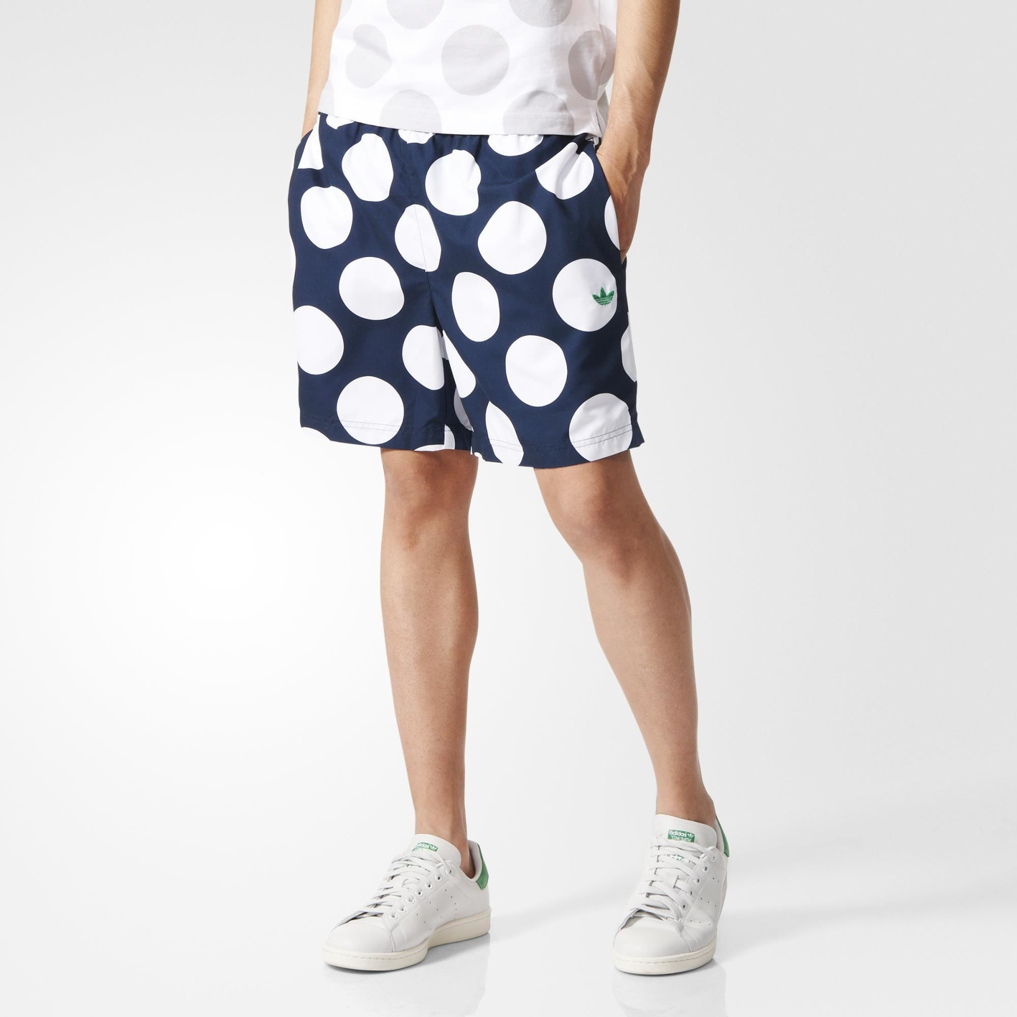 adidas stan smith with shorts