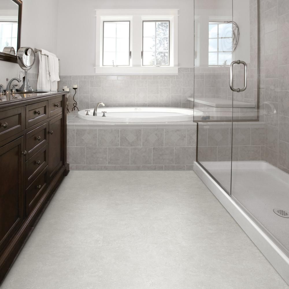 Bathroom floor vinyl tiles - Starry Light Luxury Vinyl Tile Flooring 24 89 Sq Ft Case