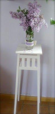 La acuarela blanca: Shabby Art