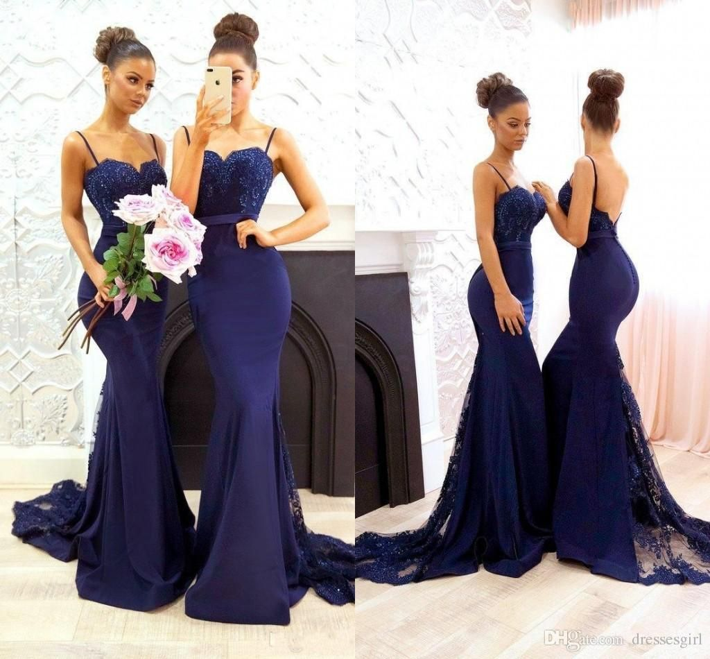 Image result for hot blue bridesmaid dresses family colors should