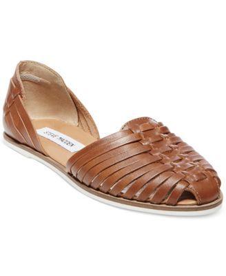 0d3eae6b7d4 Steve Madden Women's Hillarie Huarache Slip-On Sandals - Sandals ...