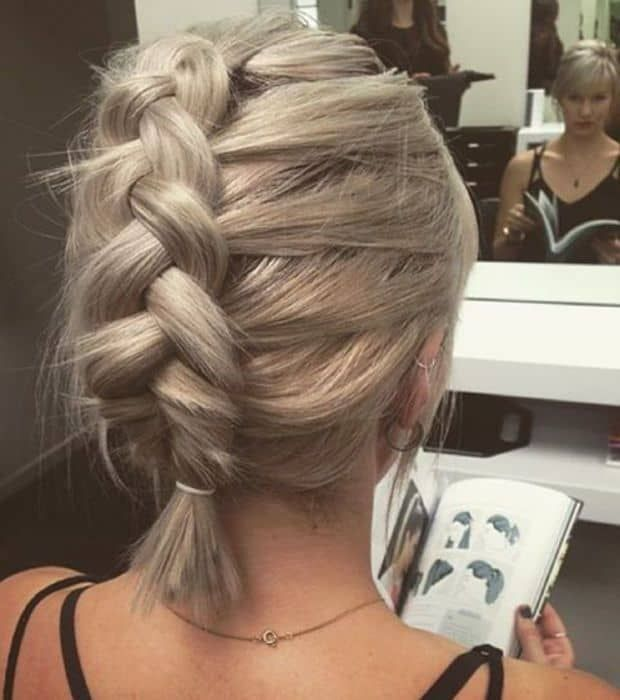 11 Epic Dutch Braid Styles For Short Haired Donnas Braids For