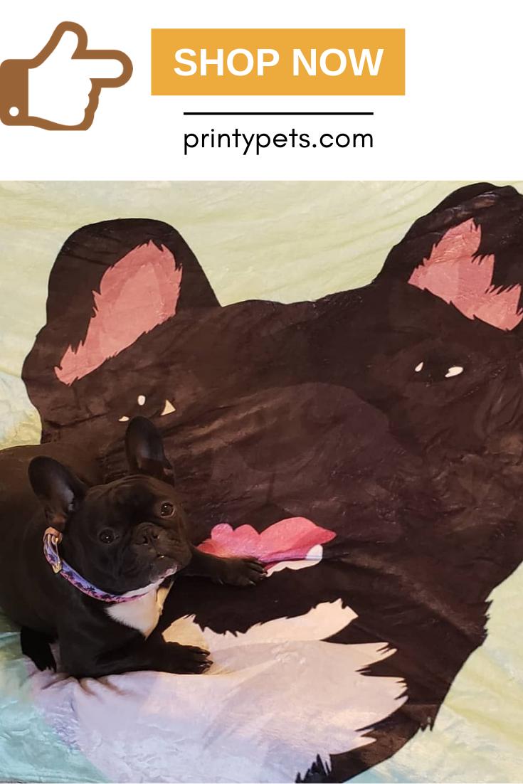 Custom Pet Print Fleece Blanket Print Fleece Blanket Fleece Blanket Puppy Beds