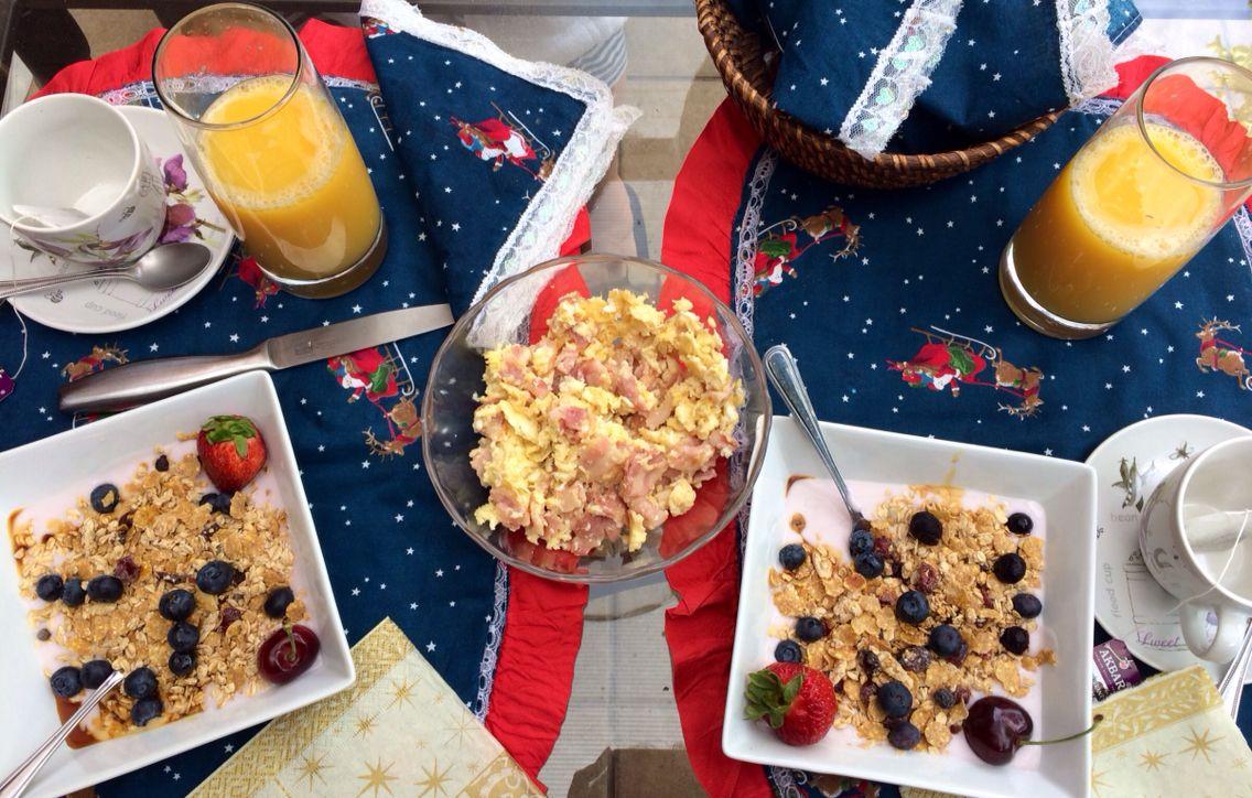 Desayuno navideño