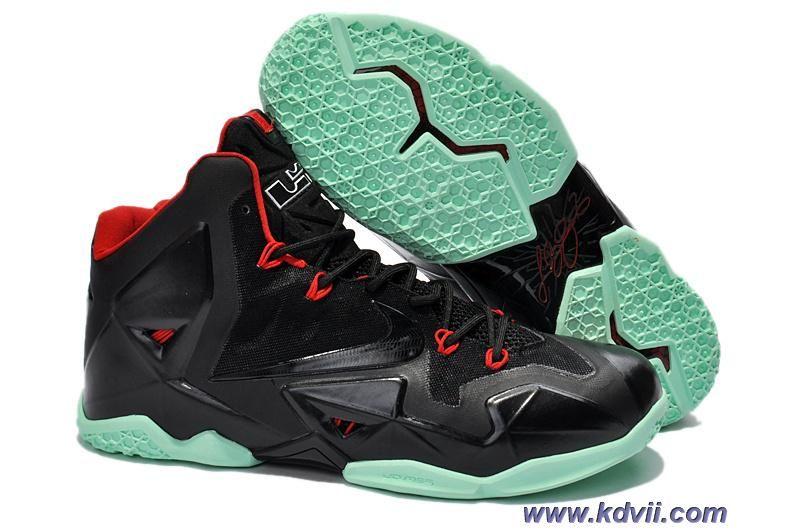 Discounts Black Green Red Nike Lebron XI