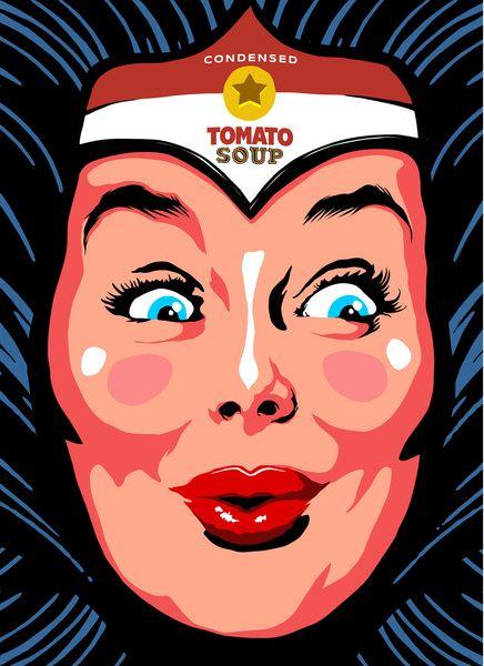 Pop Art Wonder Warhol Art Print by Butcher Billy | Society6