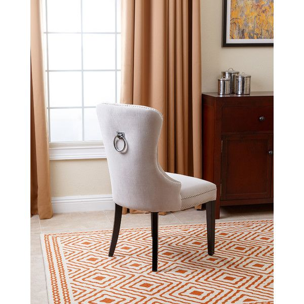 Room Luna Velvet Side Chair