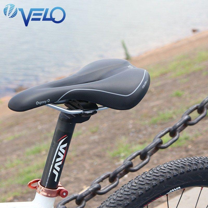Velo Gel Bicycle Saddle Seat Road Mtb Mountain Bike Rear Seat
