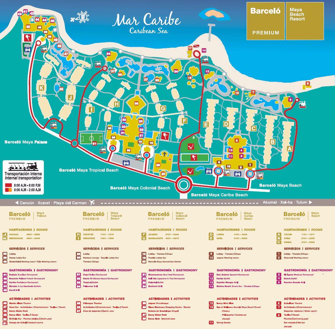 Barcelo-maya-palace-map.jpg Mexico, Puerto Aventuras