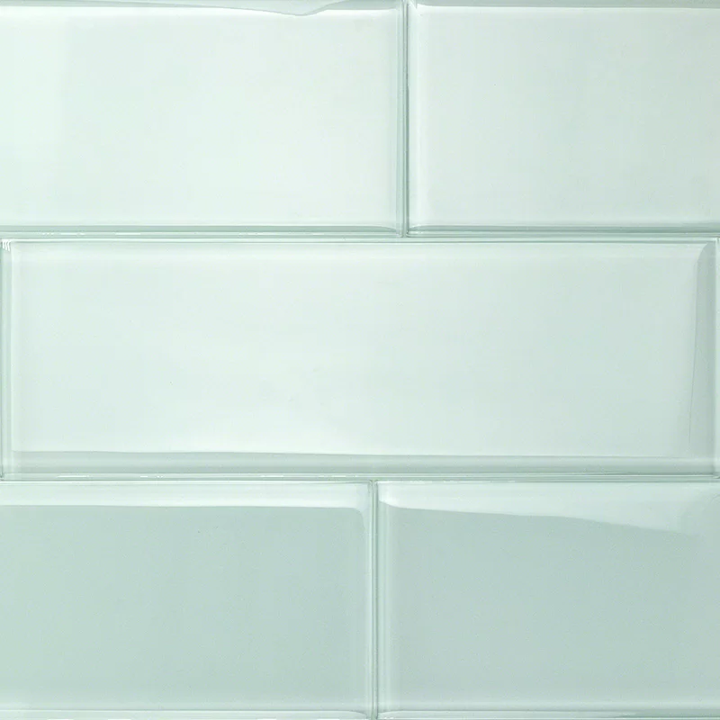 Contempo 4 X 12 Glass Subway Tile In 2020 Glass Subway Tile Green Subway Tile Wall Tiles