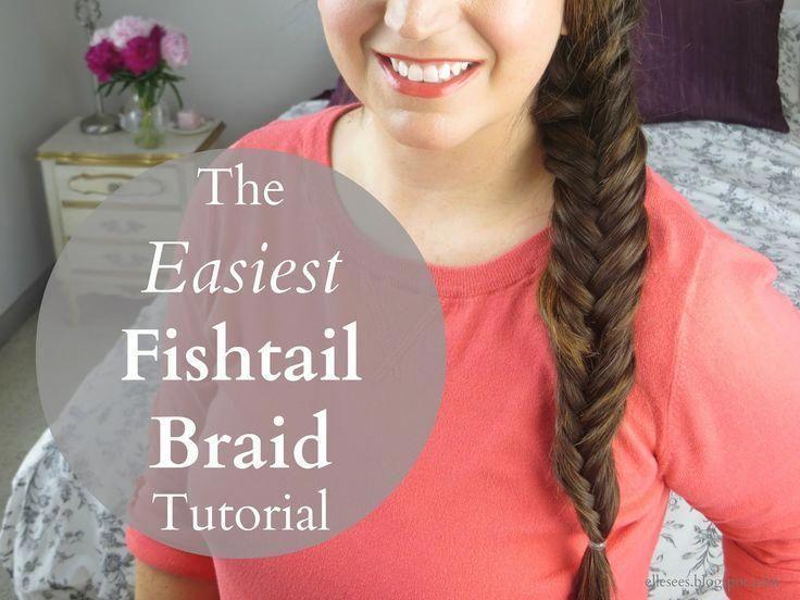 Cómo: Tutorial de trenza de cola de pez más fácil (Video) (Elle Ve) – #Bear #Easiest #E …