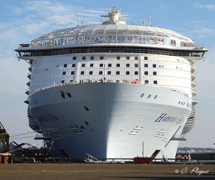 Latest Photo Of Harmony Of The Seas By Christian Plague The - Christian cruise ships