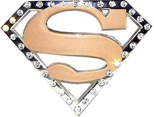 Golden Superman Belt Buckle