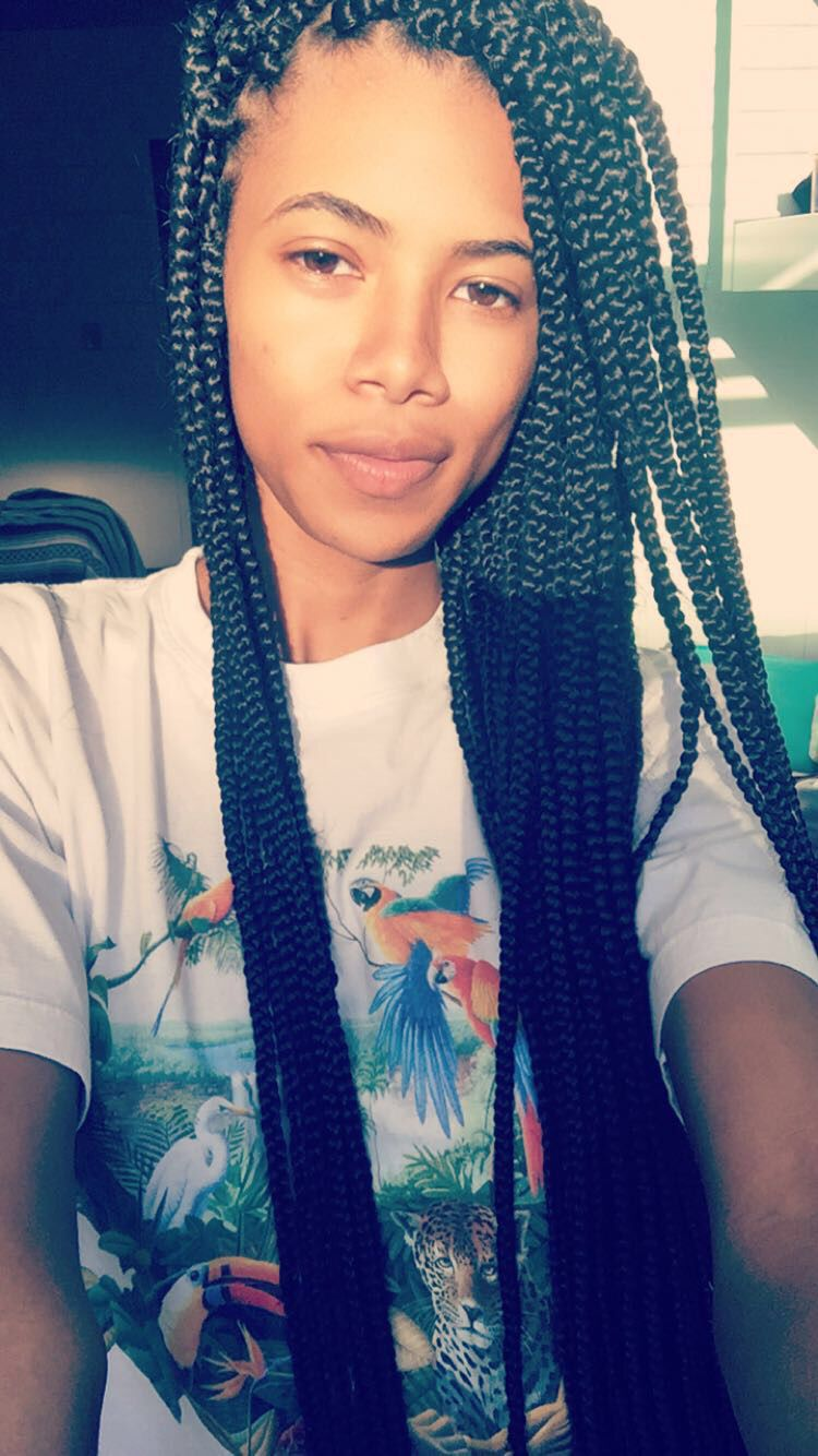 Box Braids Hairstyles Fascinating Small Box Braids Skinny Box Braids Hairstyles Long Box Braids