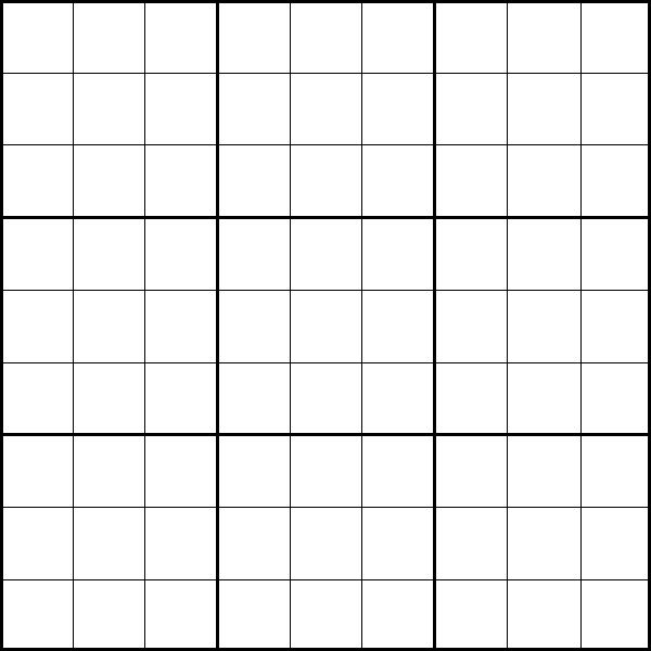 Exceptional image for sudoku printable grid