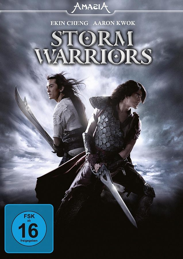 Poster Of Storm Warriors 2009 In Hindi English Dual Audio 300mb