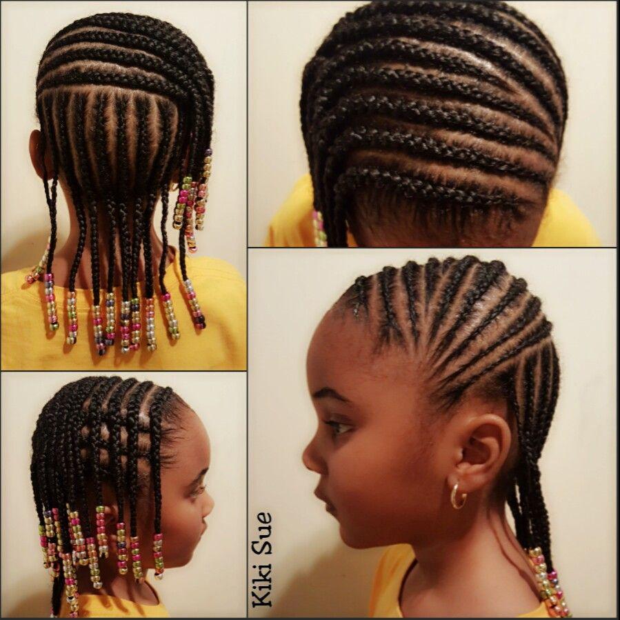 braids & beads | g i r l s h a i r *! | natural hair styles
