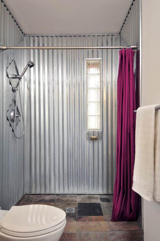 12 Great Sheet Metal Home Decor Ideas   Sheet metal, Glass doors and ...