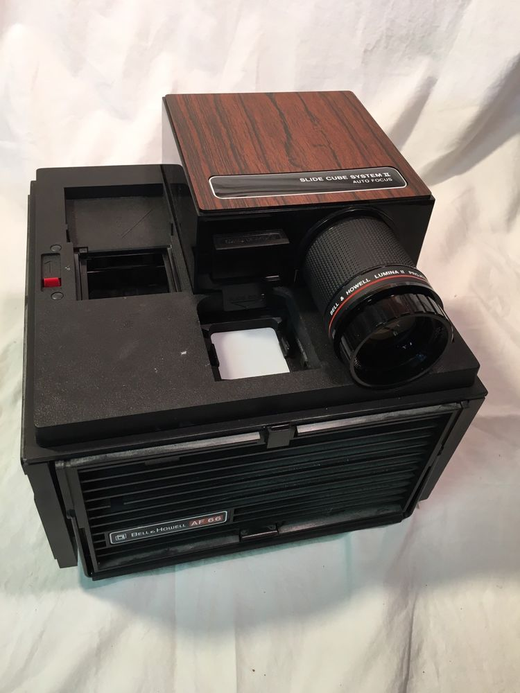 bell and howell af 66 slide projector slide cube system ii auto focus works cameras photo film photography slide movie projection ebay