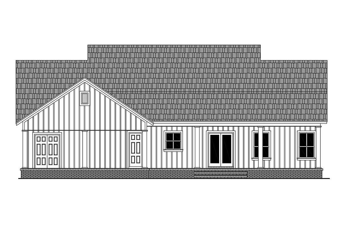 House Plan 348 00285 Modern Farmhouse Plan 1 800 Square