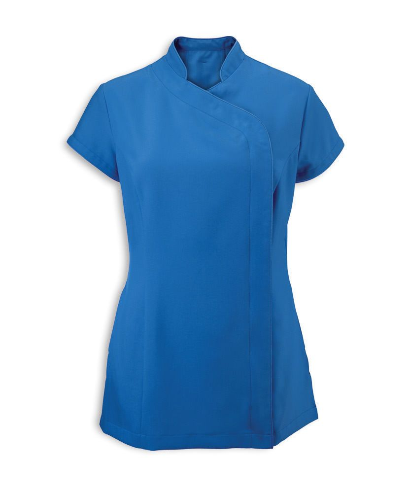 Alexandra Workwear Womens Easycare Wrap Beauty Tunic
