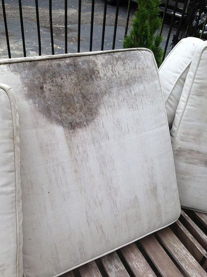 How To Clean And Renew Outdoor Furniture And Stained Cushions In