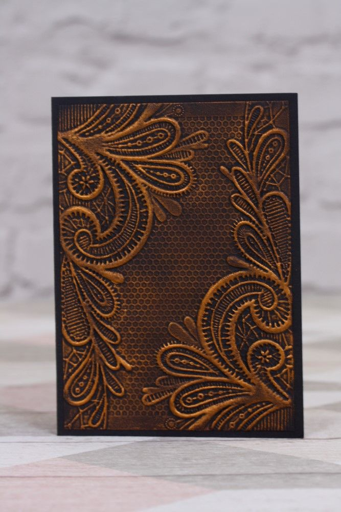 Card Making Ideas With Embossing Folders Part - 35: Crafteru0027s Companion Embossing Folder - Ornate Lace-Fantastic Value X Embossing  Folder.Add Texture U0026 Style To All Your Cardmaking Projects.