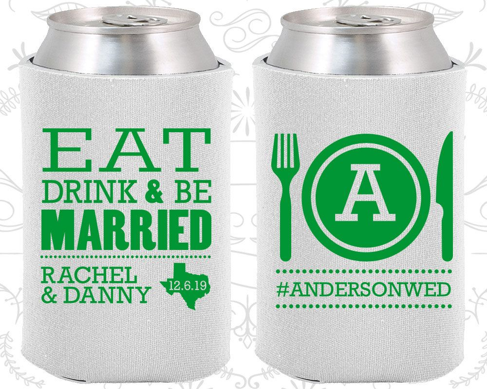 Eat Drink and Be Married, Fun Wedding Gifts, Country Wedding Favors ...