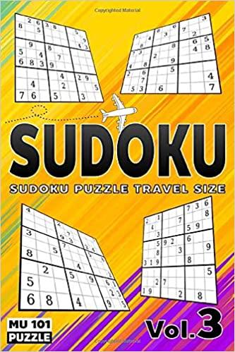 Sudoku Puzzle Travel Size Sudoku Large Print 101 Puzzles