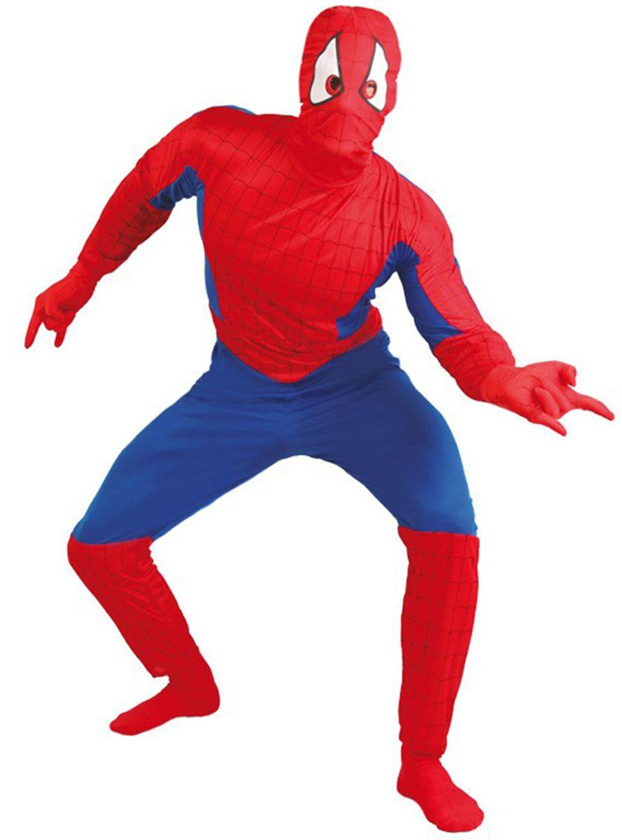 Funidelia spider superhelt kostyme voksen: shop online @funidelia