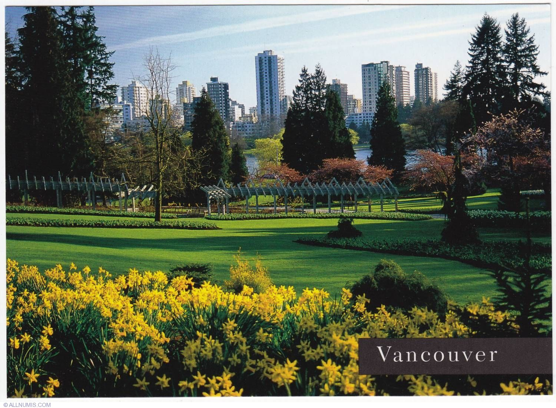 Stanley Park Vancouver Canada | Postcard Vancouver-Stanley ...