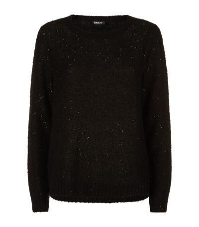 DKNY Sequin Sweater. #dkny #cloth #