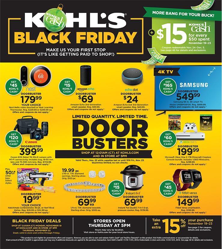 Image Result For Kohl S 2018 Print Kohls Black Friday Black Friday Ads Jcpenney Black Friday