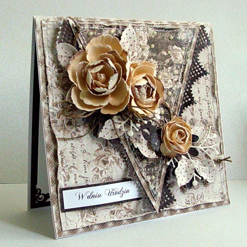 Декоративные открытки своими
