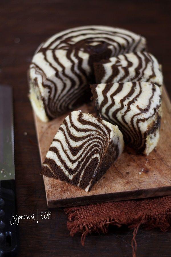 Zebra Cake Kukus Jajane Vivi Kue Zebra Ide Makanan Makanan