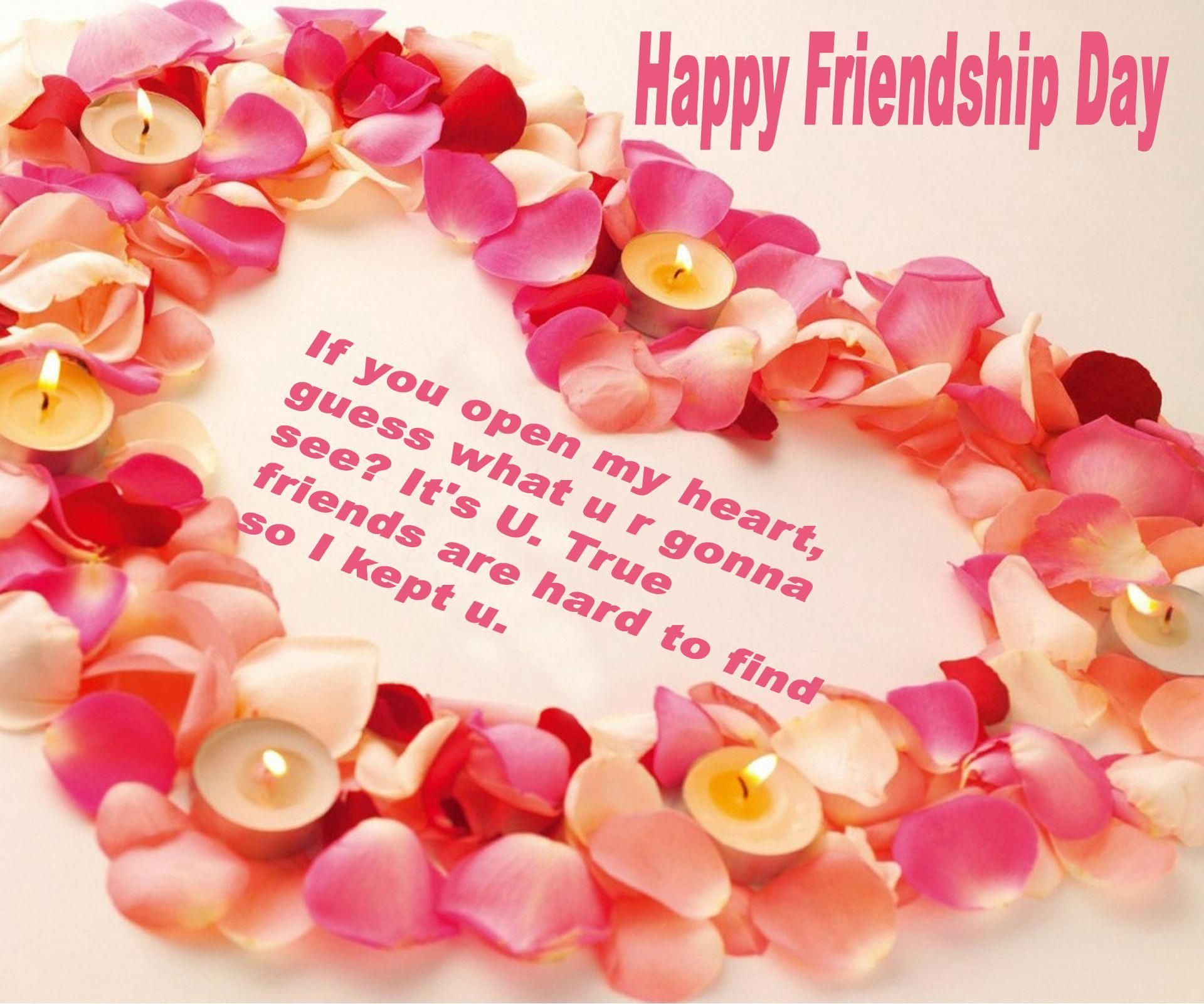 Happy Friendship Day Red Rose Wallpaper Happy Friendship Day Friendship Day Wishes Friendship Day Images Friendship rose day images for friends