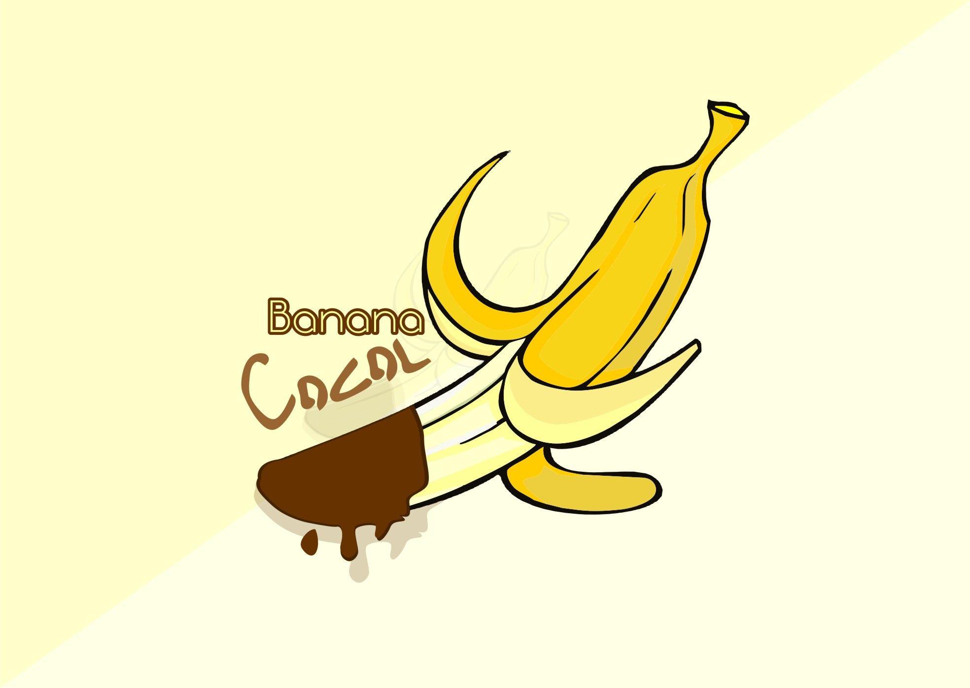 logo banana coklat gambar pisang logo banana coklat gambar pisang