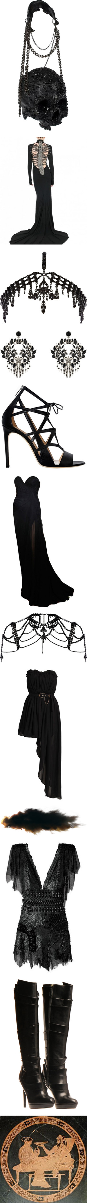 """Greek Mythology: Hades"" by parthenope ❤ liked on Polyvore"