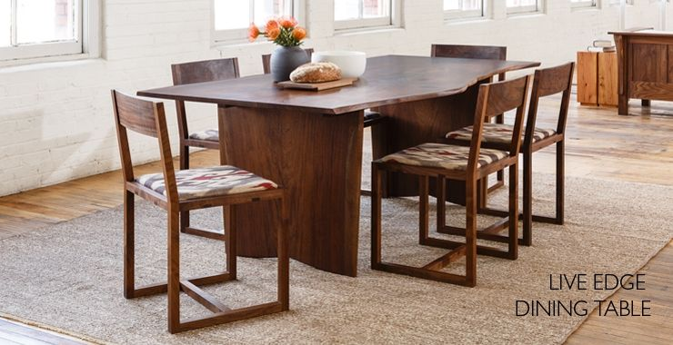 Dining Tables The JoineryDining Room FurnitureWood FurnitureDining ChairsDining RoomsWalnut TablePortland OregonWoodworking