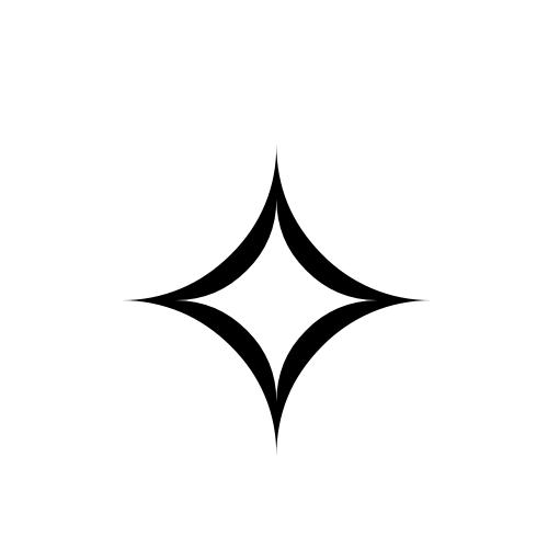 Four Pointed Star This Is A Good Shape Small Mandala Tattoo Star Tattoos Stars