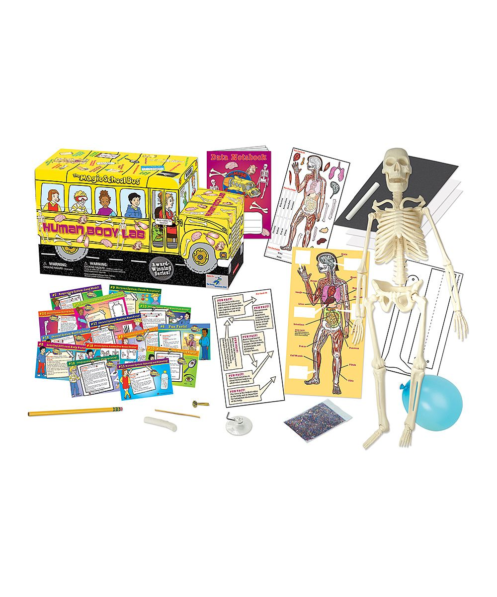 Magic School Bus Human Body Lab Kit | Magic school bus ...