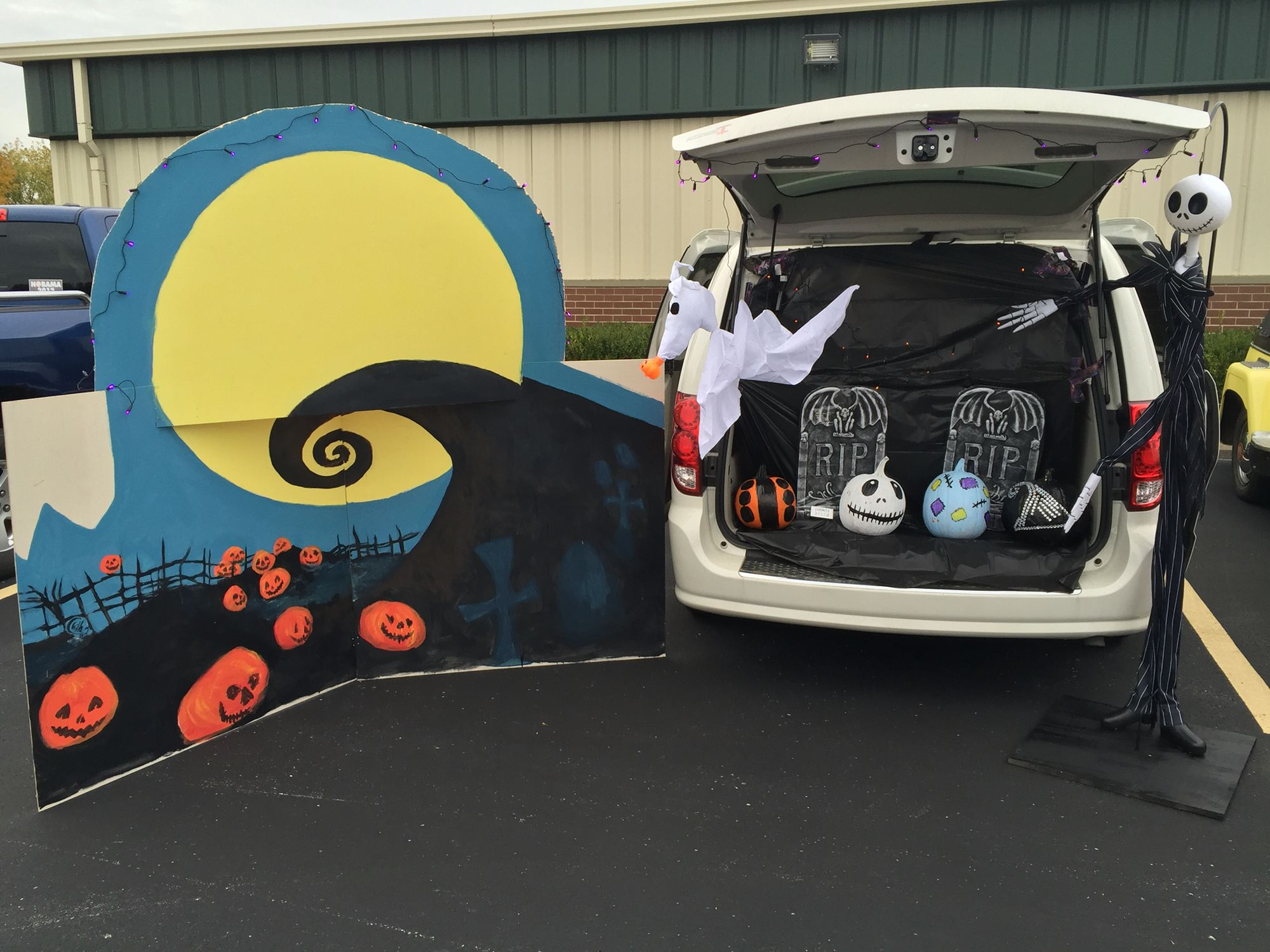 Nightmare Before Christmas Trunk or Treat | trunk or treat ideas in ...