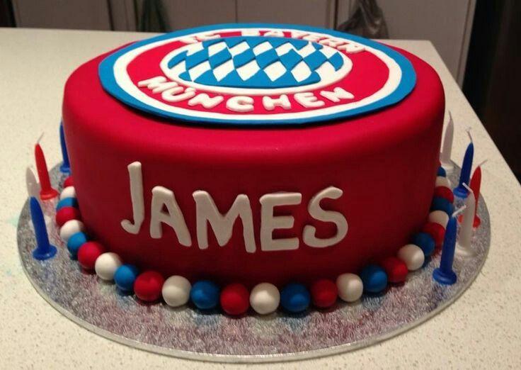 Bayern München Geburtstagstorte