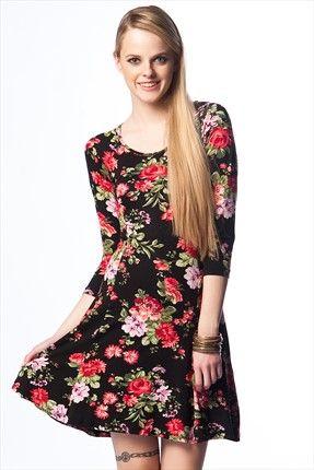 Siyah Elbise 4lf40235 Siyah Elbise Elbise Mini Elbiseler